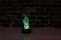 무료 배송 거실은 ce와 ul 인증서 YJM-2891 3d led 야간 조명베이스를 전시합니다