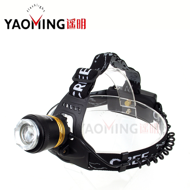 CREE T6 2000 lumens headlamp cree led high power flashlight 3 modes rechargeable waterproof torch lantern by 2*18650 head lamp