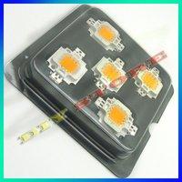 10 шт. / лот 10 Вт с высокой мощностью белый из светодиодов лампа тёплый, 550lm, 3000 - 3400 к + доставка-10000056