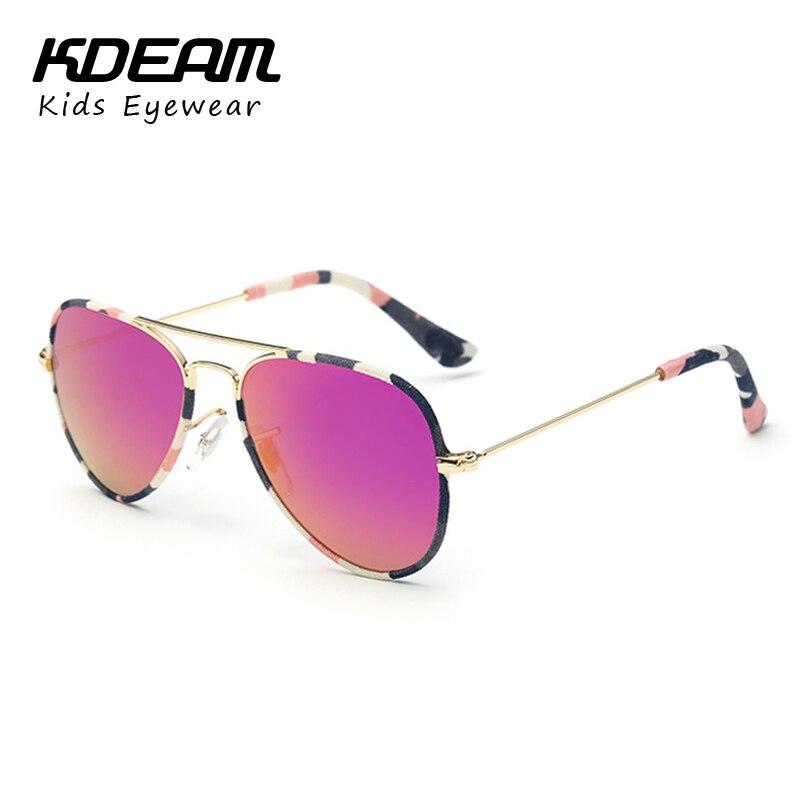 Camo Rot Jungen Aviator Sonnenbrille kühle Farbtöne Kinder Kinder Kleinkinder 100% UV-Schutz 64 VN2Slb9J