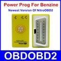 Poder Prog Para OBD2 Carros Benzina Mais Nova Geração De Nitro com Botão de Reset Mais Power & Torque Do Que NitroOBD2 Chip Tuning