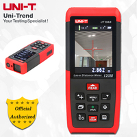 UNI T UT396A/UT396B Color Laser Distance Meter; 80M/120M Camera Infrared Measuring Instrument/Electronic Scale USB Online