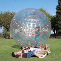 Free Shipping Inflatable Rolling Zorb Ball For Kids And Adults Guangzhou Factory Direct Sale 2.5m Dia Inflatable Zorbing Ball