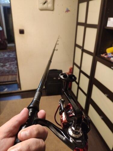 Varas de pescar Carbono Carbono Telescópica