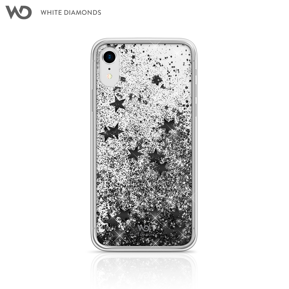 цены Case White Diamonds Sparkle for iPhone XR color black