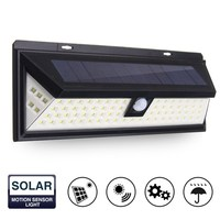 PIR Motion Sensor Waterproof 80 LED Solar Light Outdoor LED Garden Light Solar Powered Security Light
