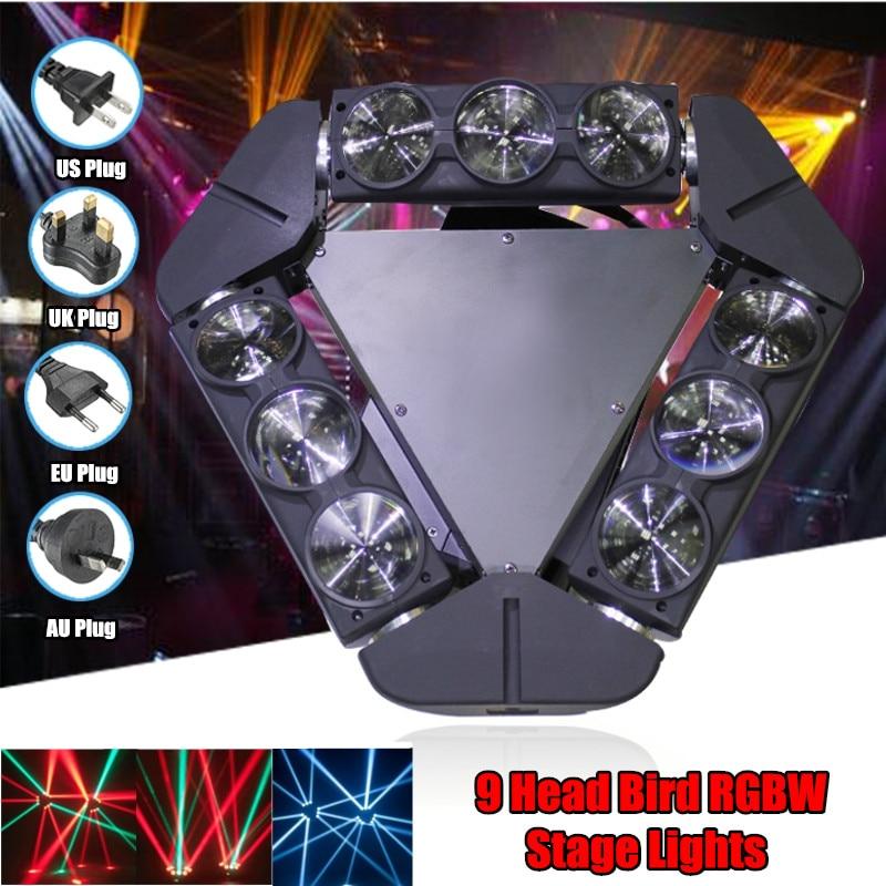 140W Aluminum Sound Control 9 LED DMX512 Stage Light Strobe Night Lamp Club Disco Wedding Party Show Digital Display новый разработанный 10 шт лот мощный 300 вт strobe light с 832 шт 5630 led strobe свет этапа dmx 512 3 6 канальный строб сценического освещения