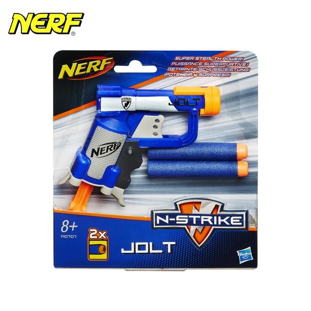 MyT игрушечное оружие для мальчиков Hasbro NERF Blaster Jolt N-Strike Series A0707