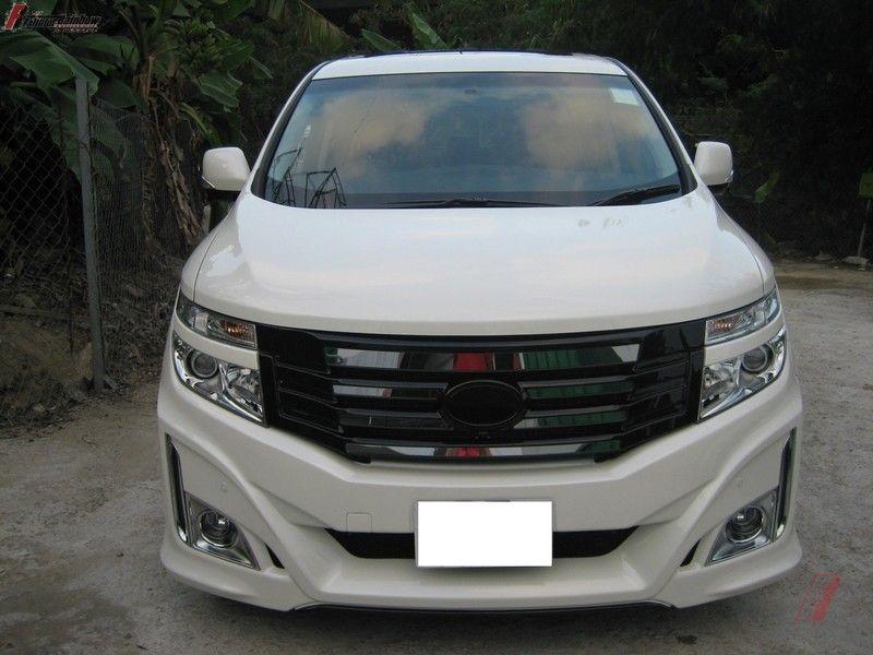 for Nissan  Elgrand 2010 2019  Front Hood Bonnet Modify Gas Struts Shock Damper Lift Supports Car Styling Absorber|Strut Bars| |  - title=