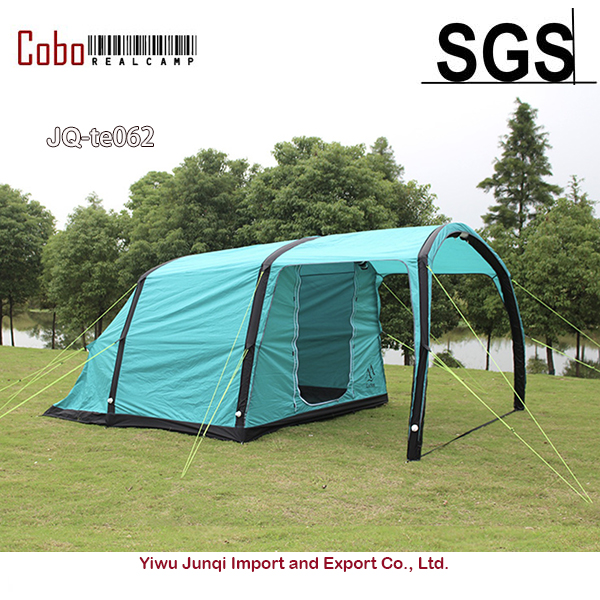 3-4 Person outdoor family inflatable sunshade beach canopy gazebo tunnel air conditioner family camping tube automatic air tent
