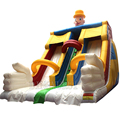 Cheap Giant inflatable slide with two tracks,outdoor inflatable slides and bouncers,inflatable slide children playground