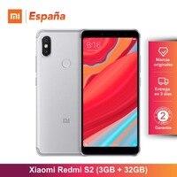 [Global Version for Spain] Xiaomi Redmi S2 (Memoria interna de 32GB, RAM de 3GB,Cámara trasera dual de 12 MP + 5 MP)