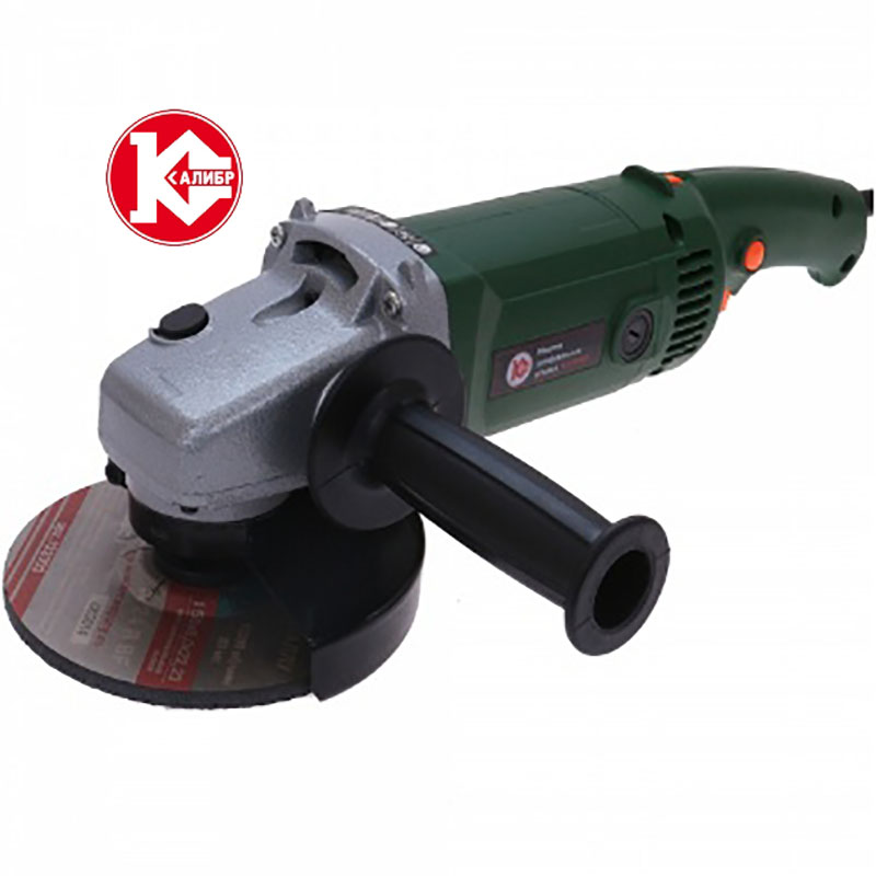 Kalibr MSHU-150E Handheld Electric Angle Grinder Speed Regulating Grinding Machine for Metal Wood Polishing Cutting kalibr mshu 125 1055 angle grinder grinding machine metal polisher angular power tool metal and wood cutting sanding polishing