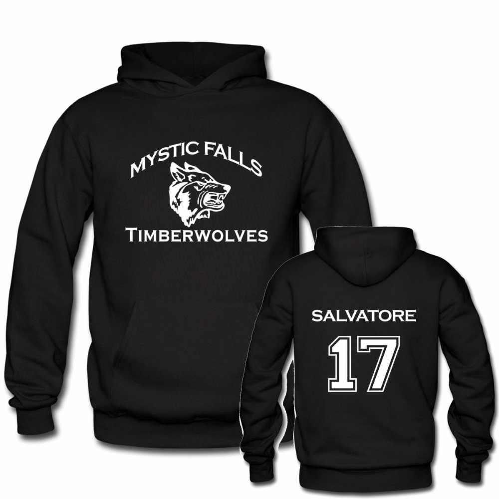 Junior Middle School Hoodie Vampire Diaries Mystic Falls