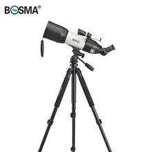 BOSMA 80/400 HD Portable Hunting Optics Spotting Scopes Astronomical Telescope Starry Sky Viewing Monocular With Tripod Gifts