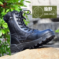 2018 SWAT Boots Outdoor Men\'s Shoes Tactical Lace-up Boots For Hiking Traveling Climbing Fishing