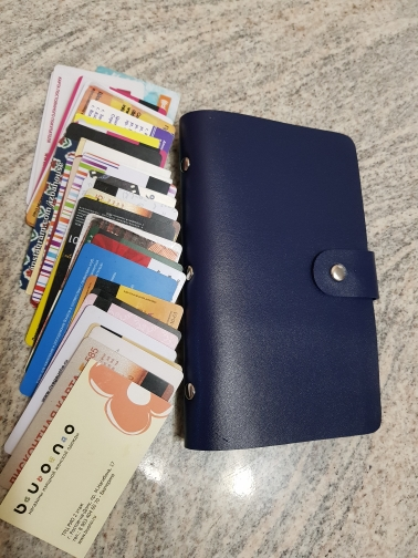 FLYING BIRDS!double Hasp women&men card bags name ID Business Card Holder High Quality Leather 96 Bank credit Card Case LS4061fb photo review