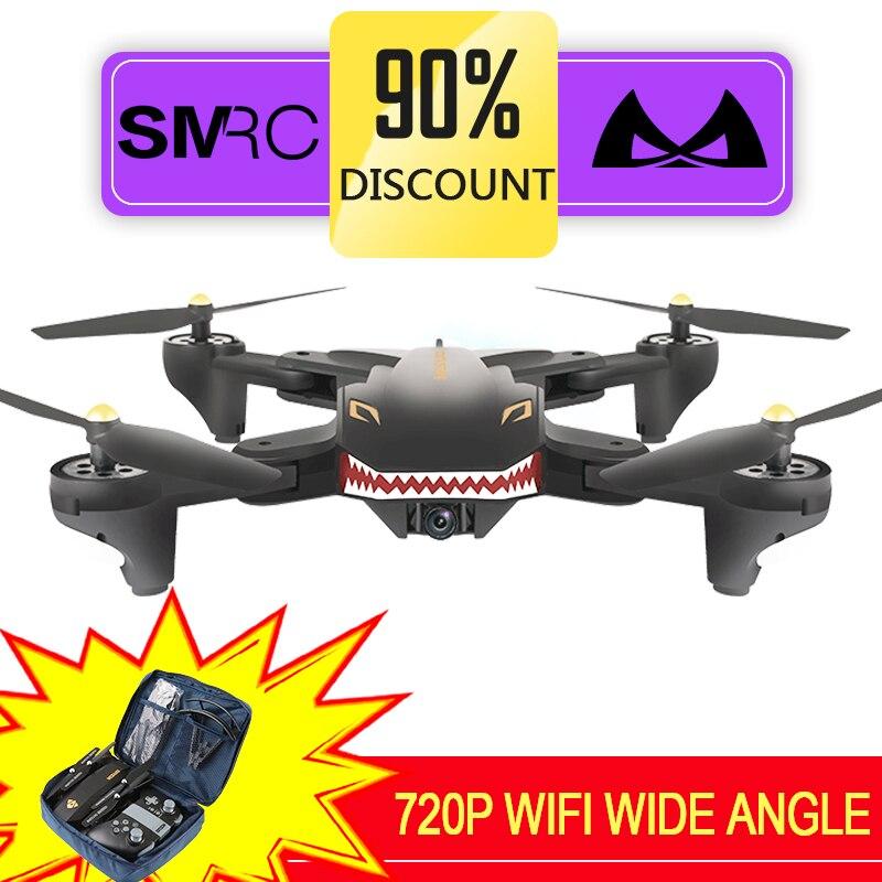 XS809W in bilico da corsa elicottero rc drone con la macchina fotografica hd drone profissional fpv quadcopter aircraft divertimento luminoso giocattolo per i ragazzi