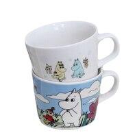 Moomin кружка креативный мультфильм Бегемот Mumin Семья Керамическая кружка для молока кофе день чашка для завтрака тумблер Muumi красивая чашка