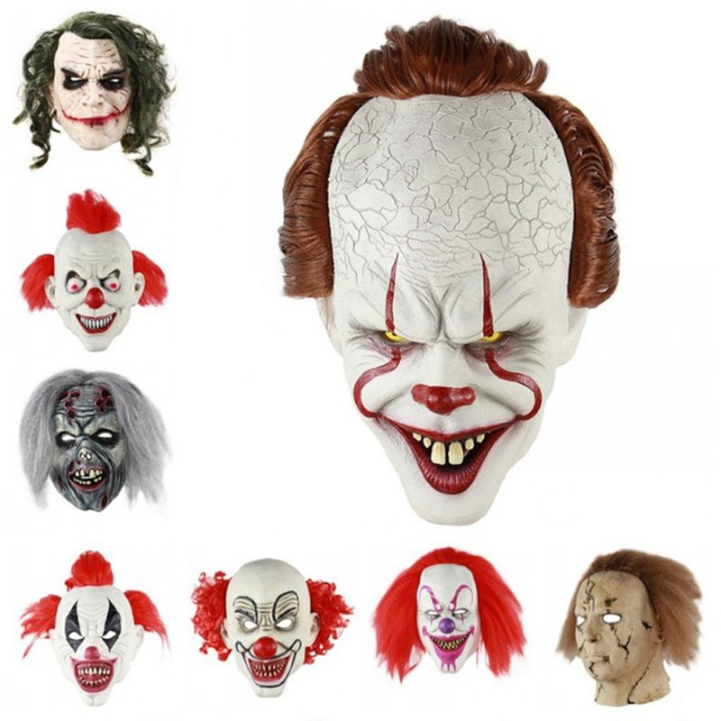 Responsible 15pcs Full Face Halloween Diy Blank Painting Mask Halloween Hip-hop Ghost Masquerade Party Mask Diy Toys male Face