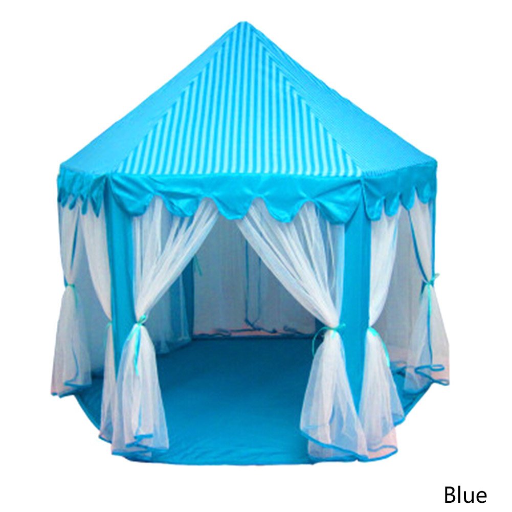 Portable Princess Castle Play Toy Tent Children Activity Fairy House Kids Indoor Outdoor Playhouse Beach Tent Baby Playing Toy толстовка серая с принтом karl lagerfeld kids ут 00019201