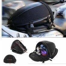 Motorcycle Bike Sports Waterproof Back Seat Carry Bag Luggage Tail Bag Saddlebag Bicycle Motorbike Tail Bag Riding Backpack