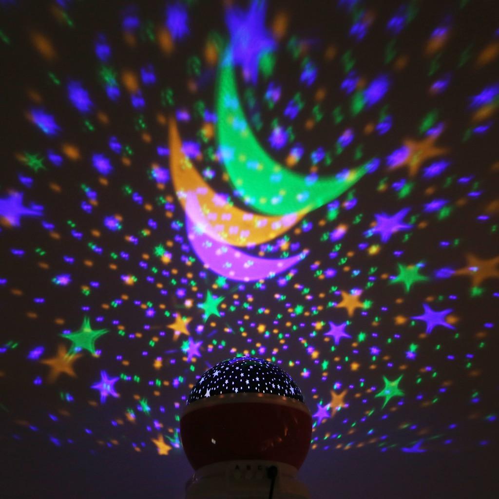 Luzes da Noite de mesa rotativa noite/luz usb Fonte de Luz : Lâmpadas Led