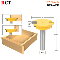 Drawer Front Joint Router Bit Reversible 1 2 ShankShank Woodworking Chisel Cutter RCT 15390
