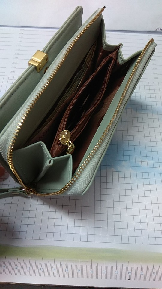 WEICHEN Fahion Women Standard Wallets Leather Female Small Wallet Ladies Clutch Brand Designer Card Holder Coin Purses Bolsas photo review