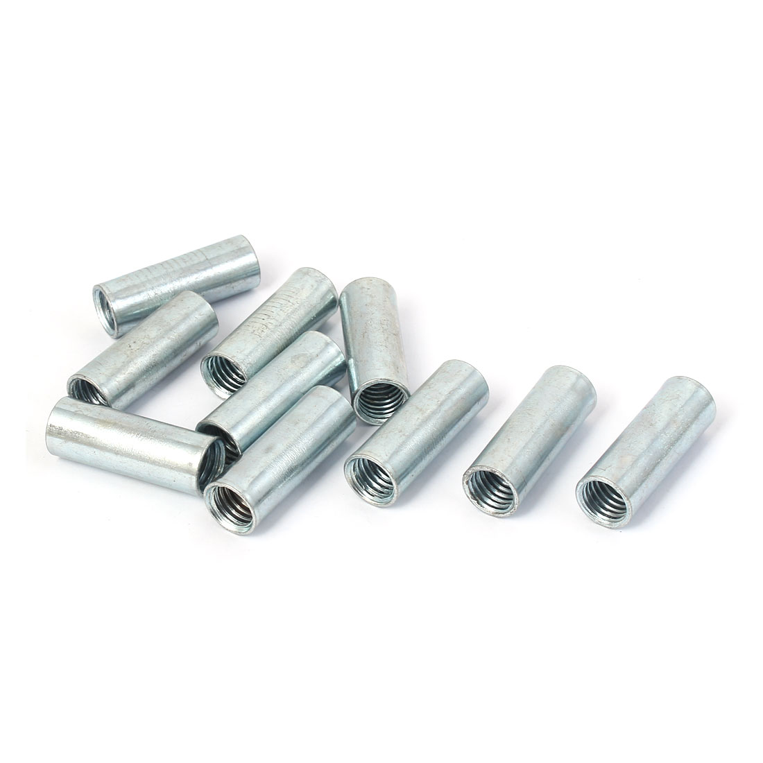 HEX  STUD FULLY THREADED CONNECTOR COUPLER JOINING CONNECTING ALL THREAD NUT