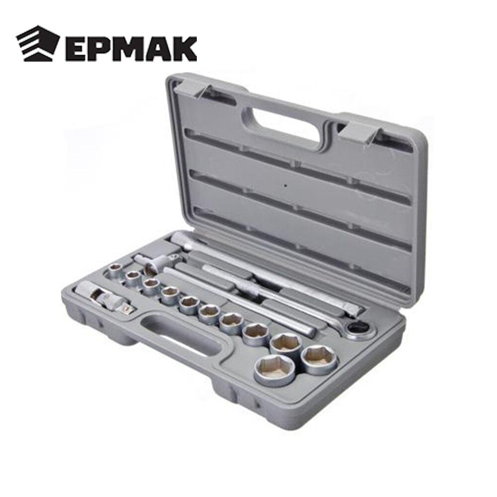 ERMAK Set heads avec joint universel haute qualité d'outils à main pour voiture en plastique cas multifonction livraison gratuite vente 736-498
