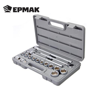 ERMAK Set heads with universal joint high quality hand tool for car plastic case multifunction free shipping sale 736 498