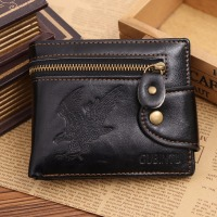 Promotion Personality Casual Wallets For Men New Design Top Leather Purse Men Wallet With Coin Bag