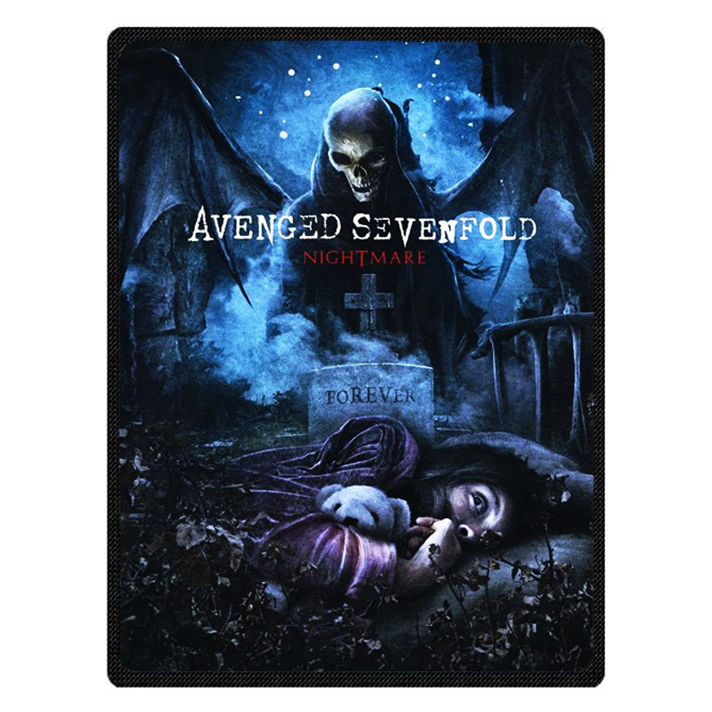 Avenged Sevenfold Nightmare Warm Fleece Throw Blanket Super Soft Flannel Manta For Sofa/Bed/Car/Plane/Travel/Baby Bedspread