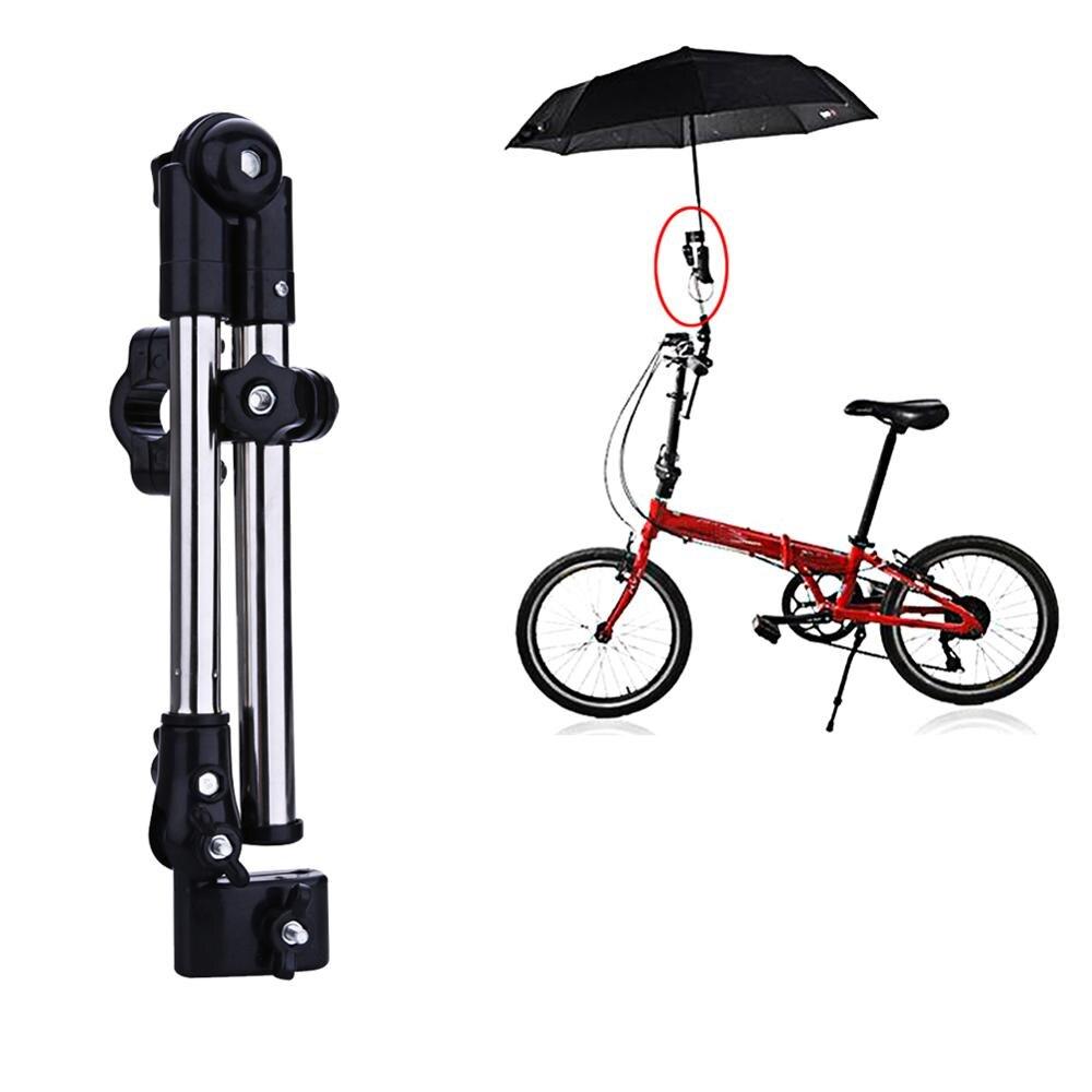 1 PC Adjustable Aluminum ABS Baby Stroller Pram Umbrella Stretch Stand Holder 2-sections Umbrella Handlebar Holder 4 Colors