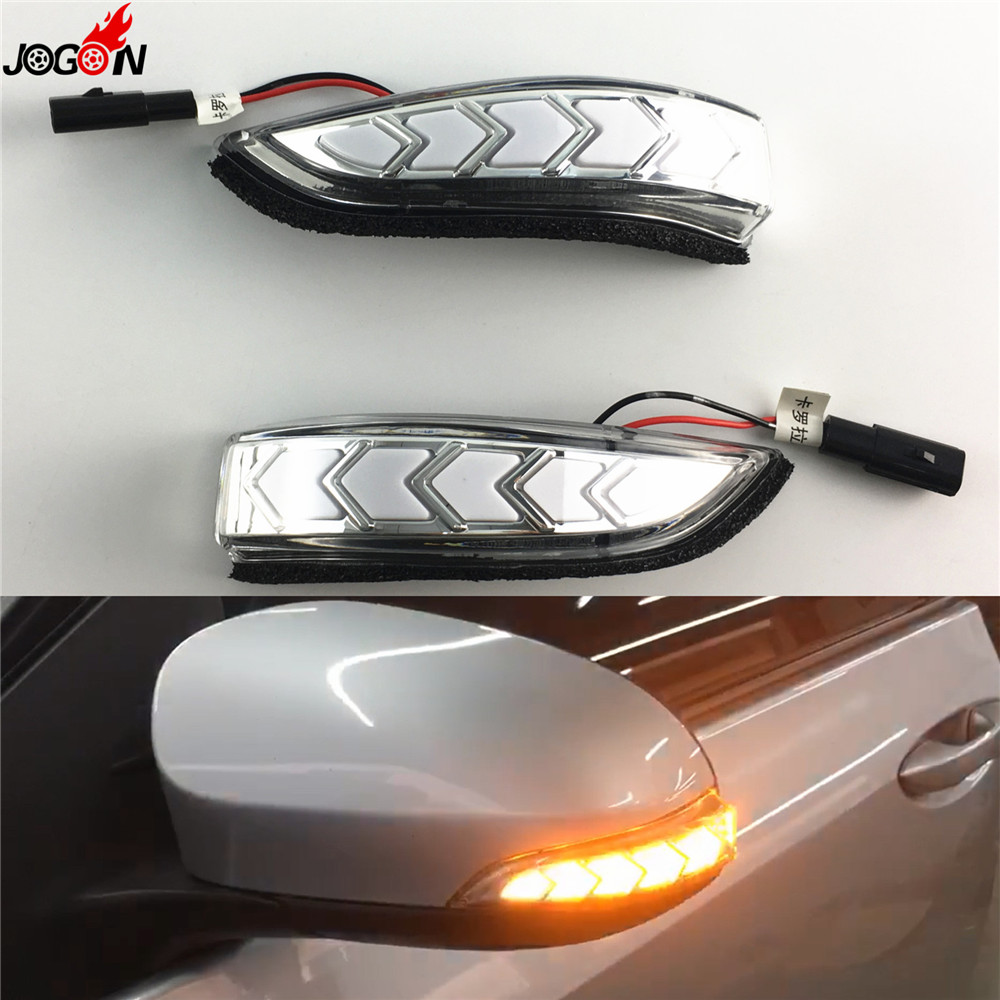 Dynamic Turn Signal Side Indicator Blinker Sequential Light For Toyota Camry XV50 Corolla E170 Prius C