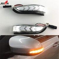 Динамический поворотов боковые индикатор мигалка последовательного свет для Toyota Camry XV50 Corolla E170 Prius C Venza Avalon Scion iM