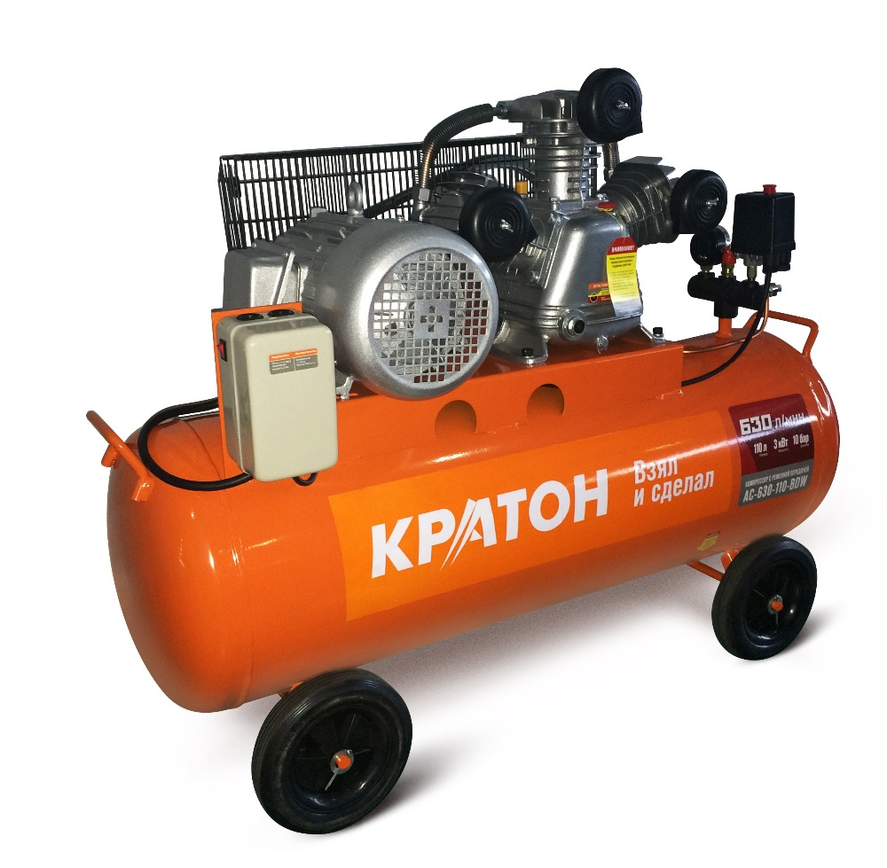 Compressor KRATON with belt transmission AC-630-110-BDW compressor kraton with belt transmission ac 630 110 bdw