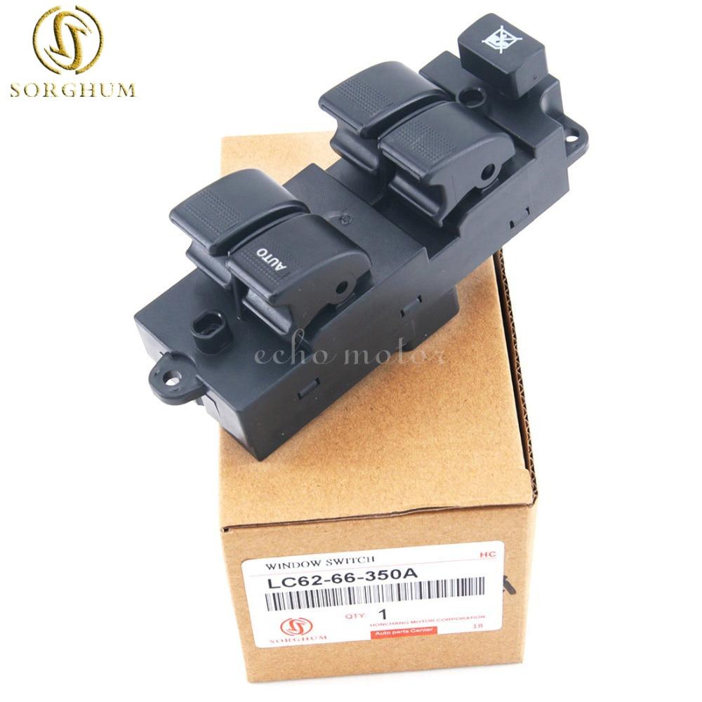 Nouveau interrupteur de commande principal de fenêtre d'alimentation LC62-66-350A pour Mazda MPV 2001-2006