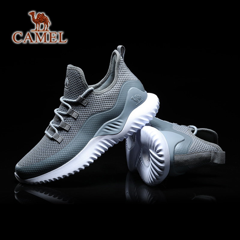 CAMEL Men Women Breathable Running Shoes Comfortable Outdoor Sports Jogging Walking Sneakers