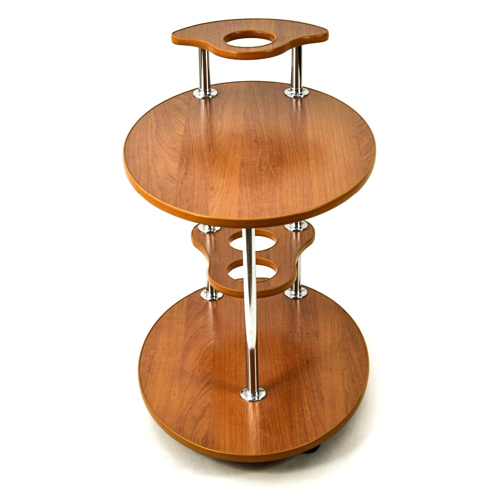 Roll-serving table, 26L on wheels. Furniture for the living room, kitchen, bedroom....