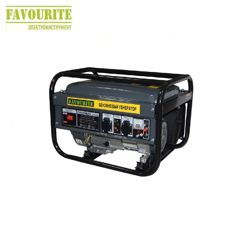 Petrol power generator Favourite PG 3000 Power home appliances Backup source during power outages Benzine power stations стоимость