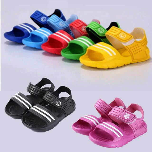 d6a0340706 2018 Summer New Korean Version Baby Soft Bottom Wear-resistant Sandals Boys  And Girls Leisure