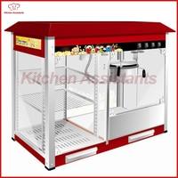 VBG898 8OZ Popcorn Machine And Warming Showcase Electric 220 Volt Commercial