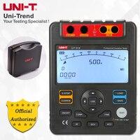 UNI T UT513 Insulation Resistance Tester; 5000V Megohmmeter, Data Storage/Analog Bar Graph/DAR/USB Data Transfer/LCD Backlight