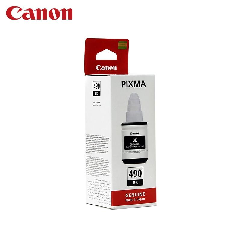 Cartridge Canon GI-490 BK (for G1400/G2400/G3400) картридж canon gi 490 bk black для pixma g1400 g2400 g3400