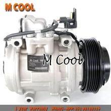 High Quality 10PA15C AC Air Conditier Compressor For Mercedes W124 W201 190E 300D 300TD 0002301111 000 230 1111 471-1228 4711228 недорого