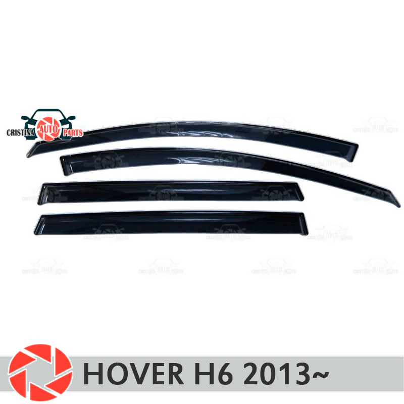 Window deflector for Great Wall Hover H6 2013~ rain deflector dirt protection car styling decoration accessories molding sandy beach wallpaper for comfortable house decoration wall paper living room 3d tv background wall decoration