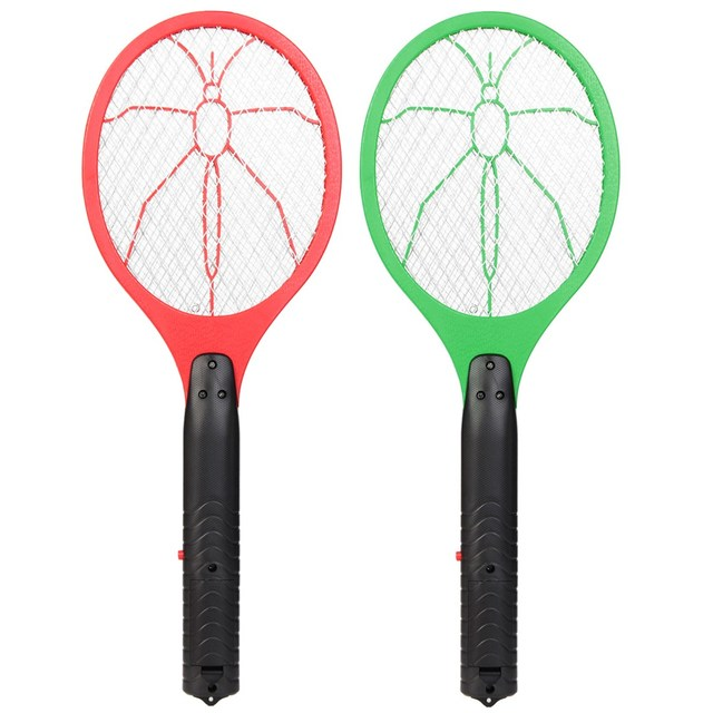 Handheld Electric Mosquito Fly Swatter Zapper Killer Bug Insect Pest