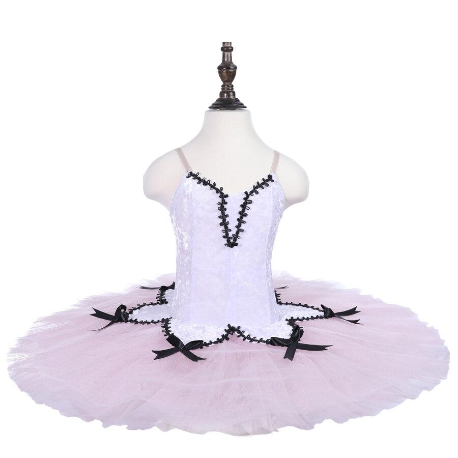 Fée pêche classique Ballet Tutu robes de Ballet adulte rose pêche casse-noisette Ballet Tutus Platter Tutu filles